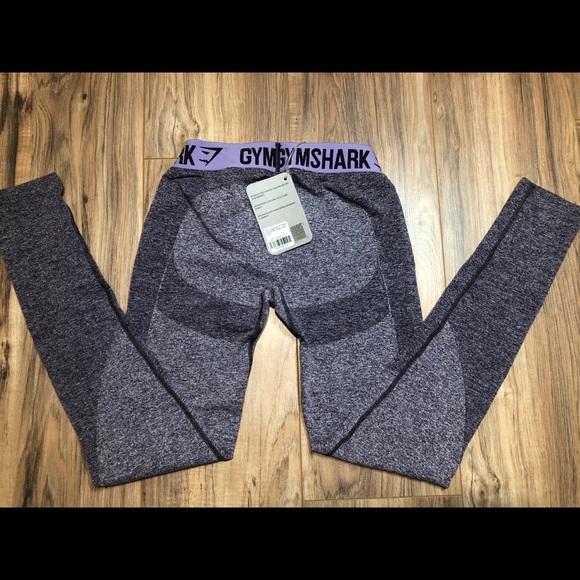 f392f36898aa1 Gymshark Pants | Nwt Flex Leggings In Rich Purple Marlsoft Lilac ...